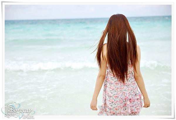乾淨透亮的大海