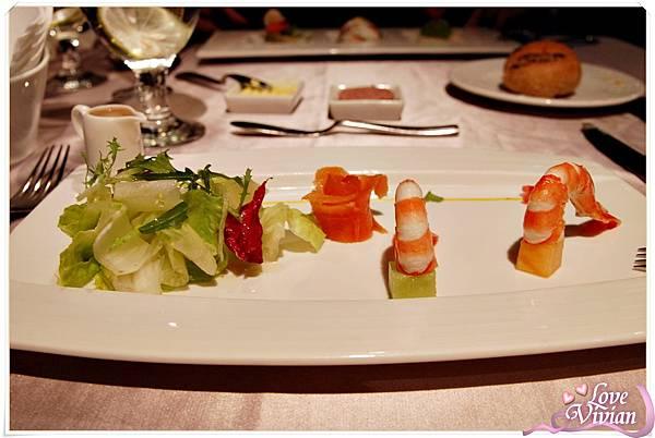 燻鮭魚蘿美鮮蝦
