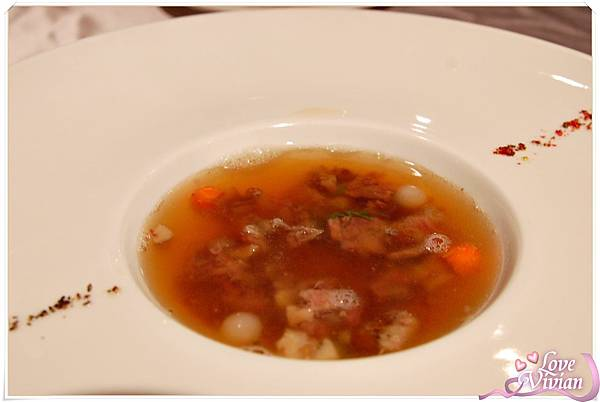 法式牛尾清湯