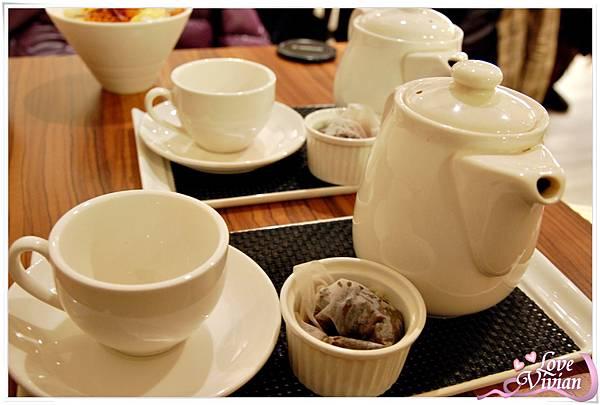 有機大吉嶺紅茶(熱)/有機水果森林水果茶