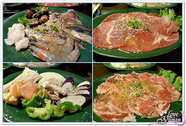 綜合海鮮/綜合蔬菜/牛豬羊