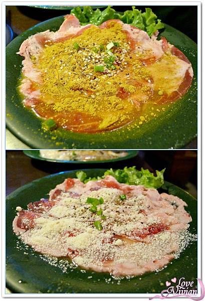 咖哩豬肉/起司豬肉