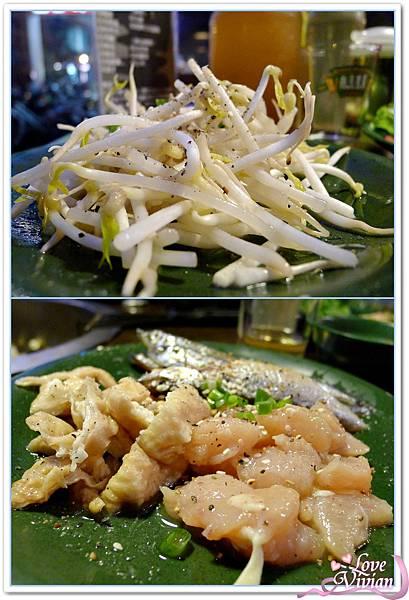 豆芽菜/豬大腸