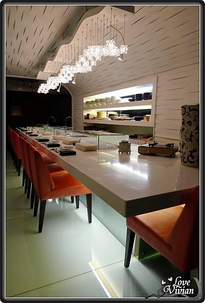 壽司區吧檯