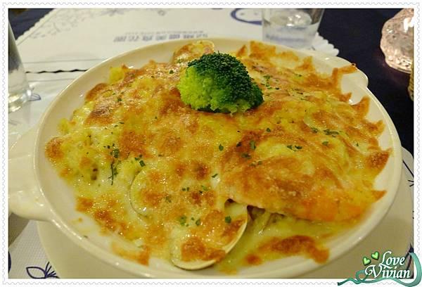 鬱金香海鮮焗飯