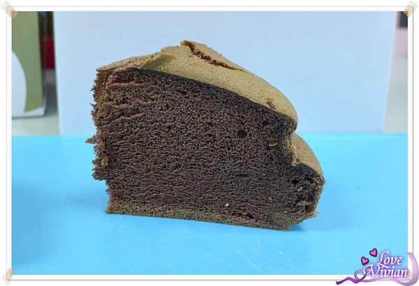 巧克力布丁蛋糕  好好粗唷!