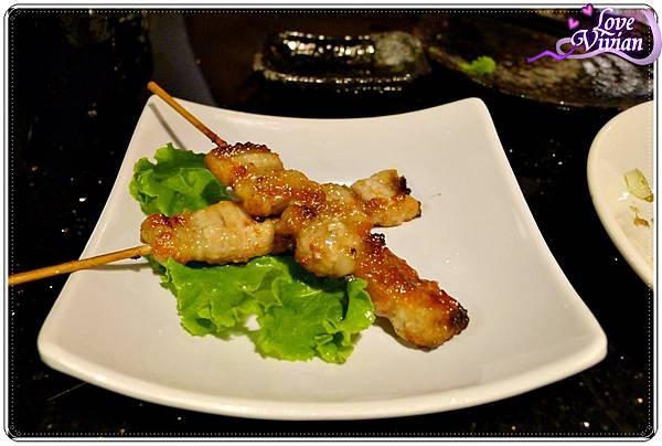 日式豬肉串