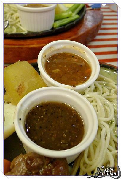蘑菇&黑胡椒醬