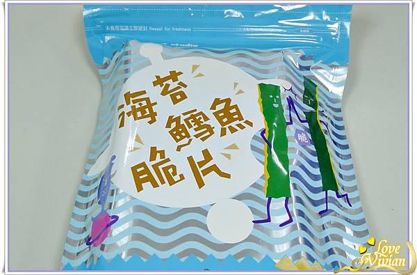 海苔鱈魚脆片