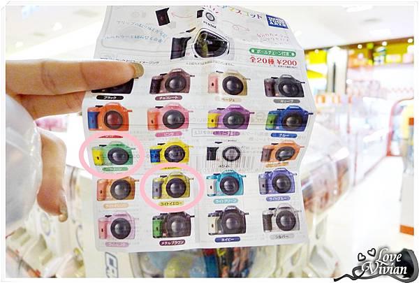 小相機顏色圖