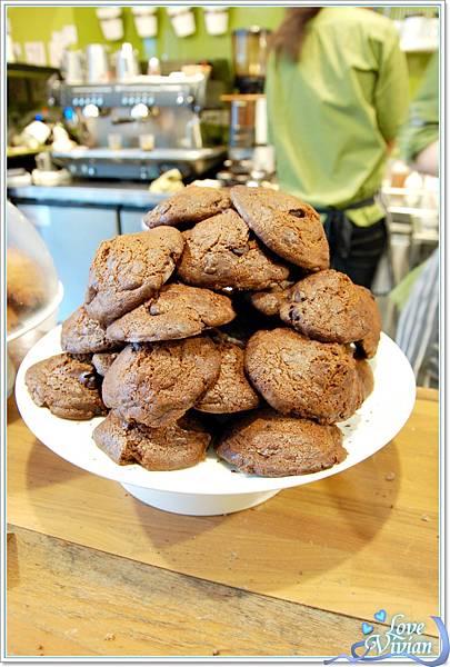 手工餅乾~巧克力