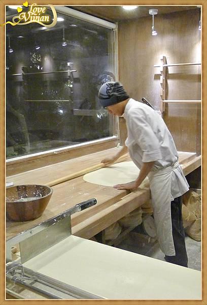 製作麵條的師傅