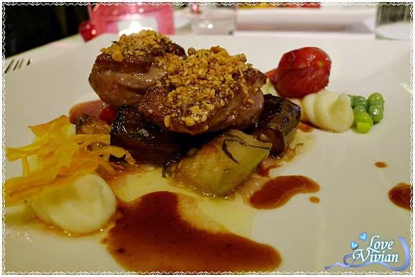 小品套餐主餐(三選一)~焦糖榛果脆皮櫻桃鴨