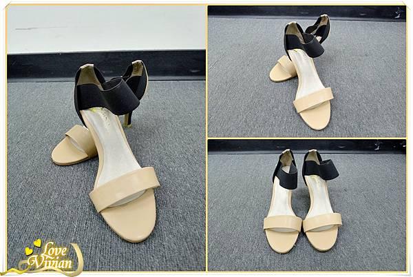 1號同事戰利品~拼色系跟鞋