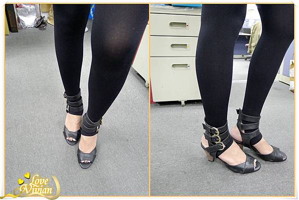 我的戰利品~黑色羅馬鞋