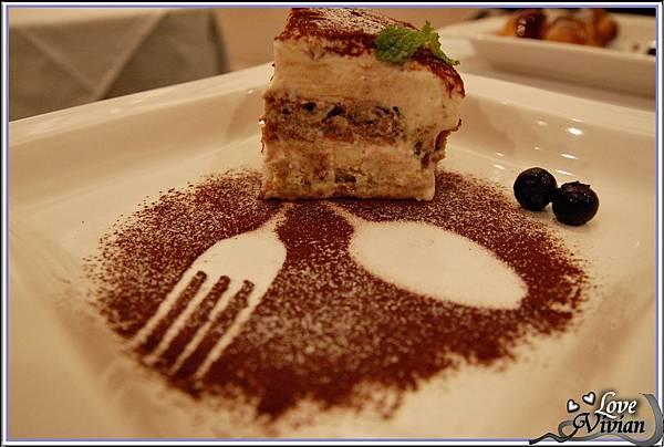 甜點:提拉米蘇