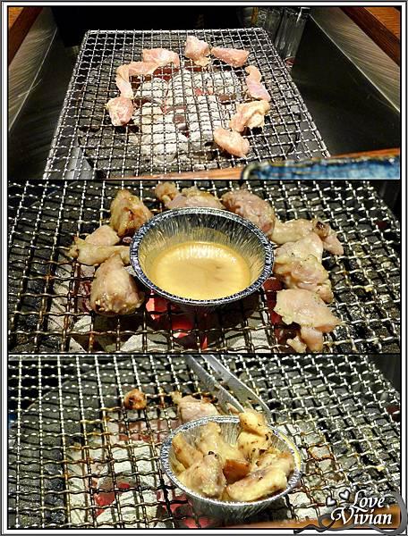 去骨雞腿肉放入油芥末醬