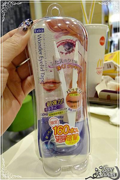 【D-up】WonderEyelidTapeExtra雙眼皮貼布160枚增量版(深邃款)