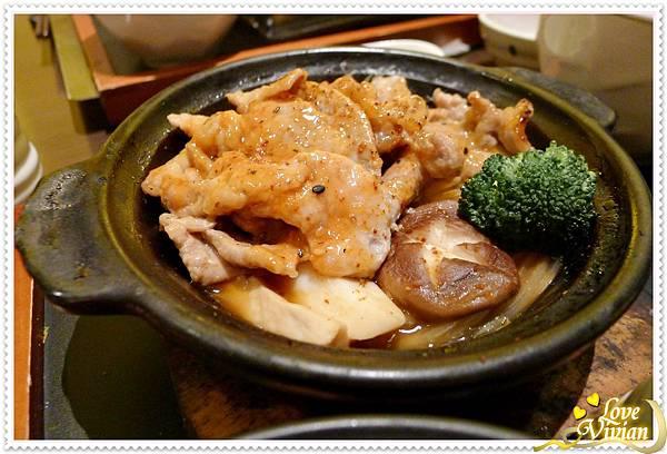 鮮菇豚燒煲