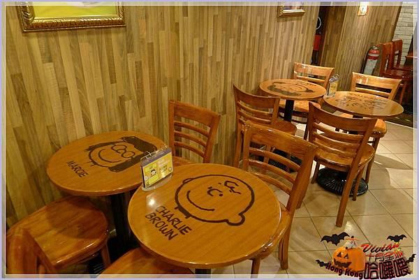 桌椅系列~圓木桌