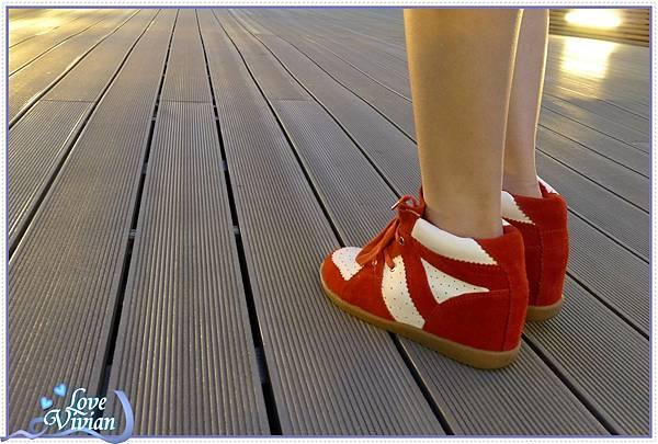 紅鞋試穿1