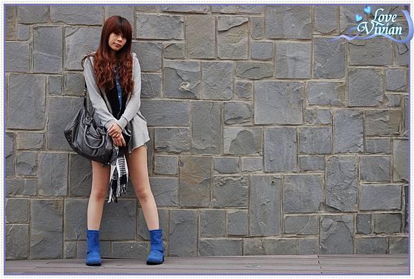 寶藍鞋試穿2