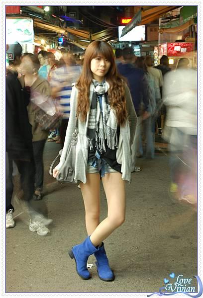 寶藍鞋試穿4