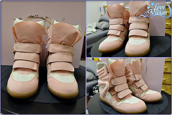 馬卡龍系列粉色的內增高休閒鞋 699元02.jpg