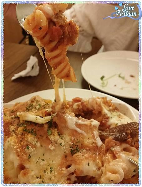 波隆那肉醬焗螺旋麵