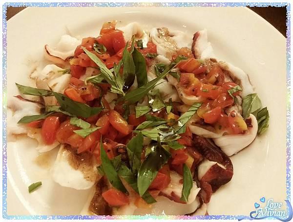 西西里章魚薄片冷盤