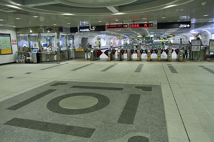 台北101大樓美食街1