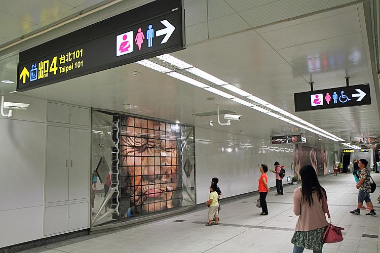 台北101大樓美食街2