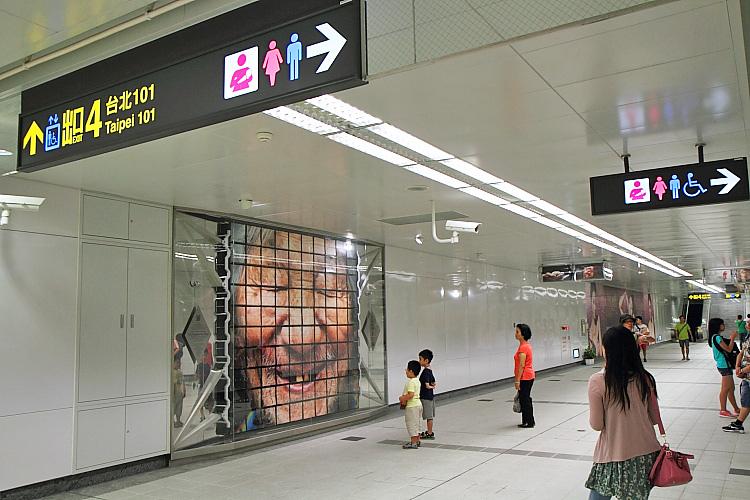 台北101大樓美食街3