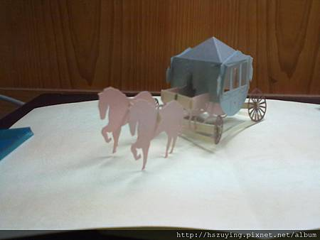 馬車卡片1