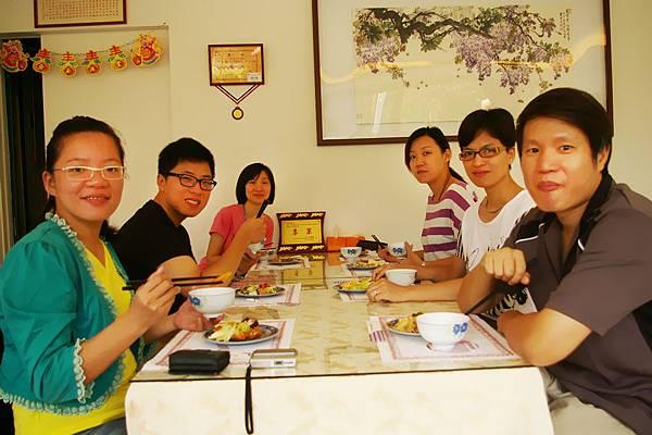 好吃的早餐,大家都吃得很滿足