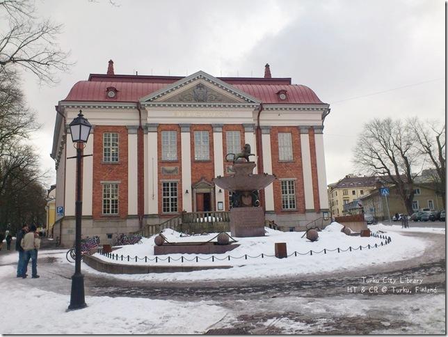Turku圖爾庫(圖書館) 1