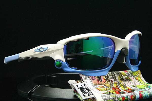 OAKLEY Custom Racing Jacket(原JAWBONE)天空藍太陽眼鏡