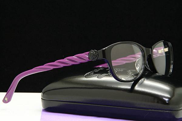 ANNA SUI 安娜蘇 立體腳架版設計眼鏡 AS557