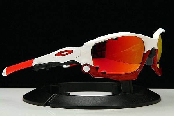 OAKLEY Custom Racing Jacket(原JAWBONE)&彩色紅鍍膜近視有度數運動太陽鏡片