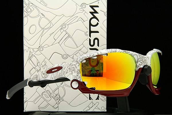 OAKLEY Custom Racing Jacket(原JAWBONE)圖騰款太陽眼鏡