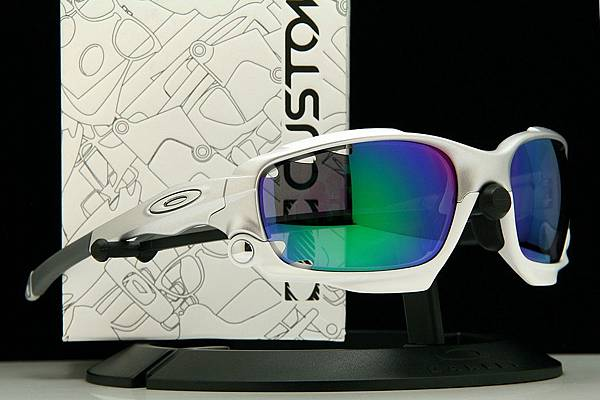 OAKLEY Custom Racing Jacket(原JAWBONE)時尚銀運動款太陽眼鏡