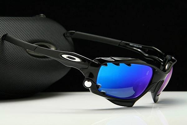 OAKLEY Racing Jacket OO9171 & 彩色藍鍍膜近視有度數運動太陽鏡片