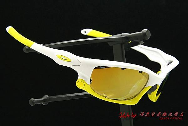 OAKLEY SPLIT JACKET OO9099-12 & 客製化近視有度數金色鍍膜太陽鏡片
