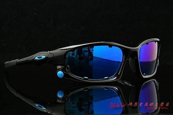 OAKLEY SPLIT JACKET OO9099 & 客製化近視有度數藍色鍍膜太陽鏡片