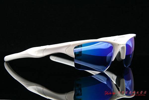 OAKLEY HALF JACKET ASIAN FIT(亞洲版) OO9153-03 & 客製化近視有度數藍鍍膜太陽眼鏡鏡片