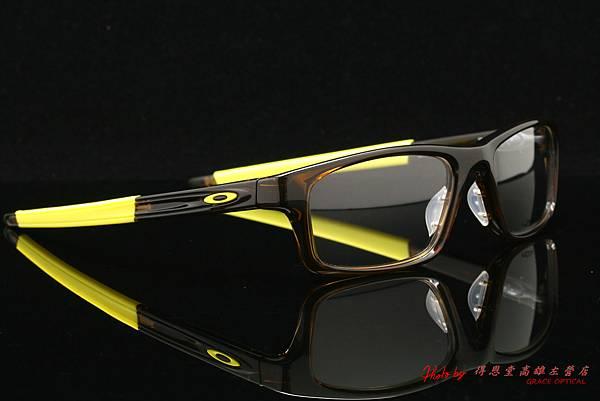 Oakley Crosslink Pitch ox8037-03 亮黃色 光學近視眼鏡