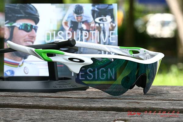 OAKLEY 2014年 MARK CAVENDISH SIGNATURE SERIES RADARLOCK PATH OO9181-35