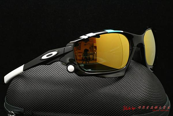 OAKLEY Racing Jacket 30週年紀念版(原JAWBONE) & 彩色金色鍍膜偏光款近視有度數運動太陽鏡片