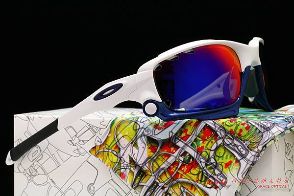 OAKLEY Custom Racing Jacket (原JAWBONE) 運動型太陽眼鏡