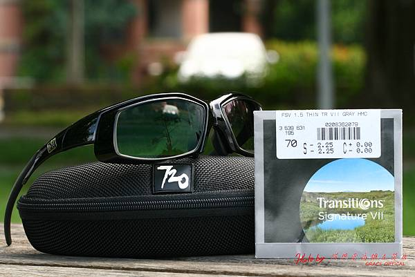 720armour Speeder RX + 第七代鑽晶全視線視無限調光變色鏡片